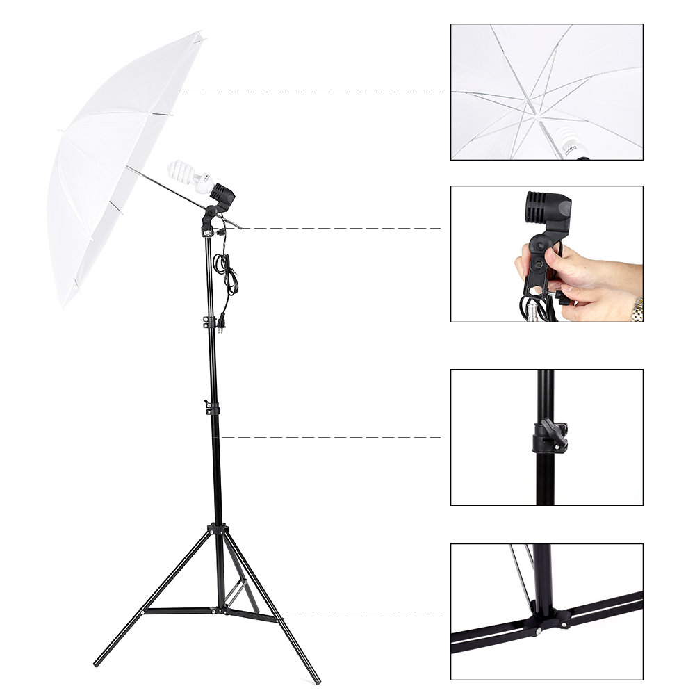 Light Stand Ebay: Photo Video Photography Studio Light Stand Umbrella